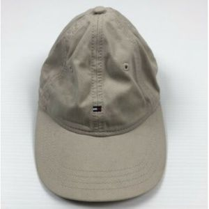 Tommy Hilfiger Khaki Tan Flag Hat Cap